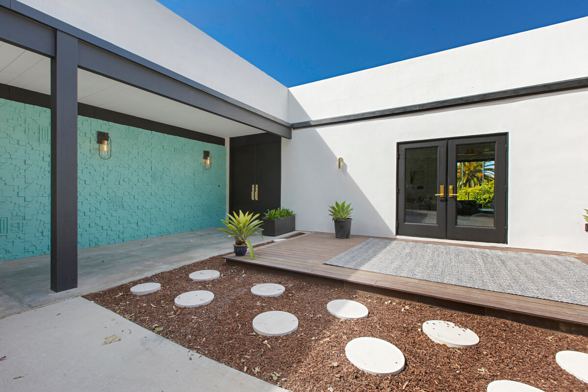 Mid Century Modern Home La Jolla Simply Stunning Spaces