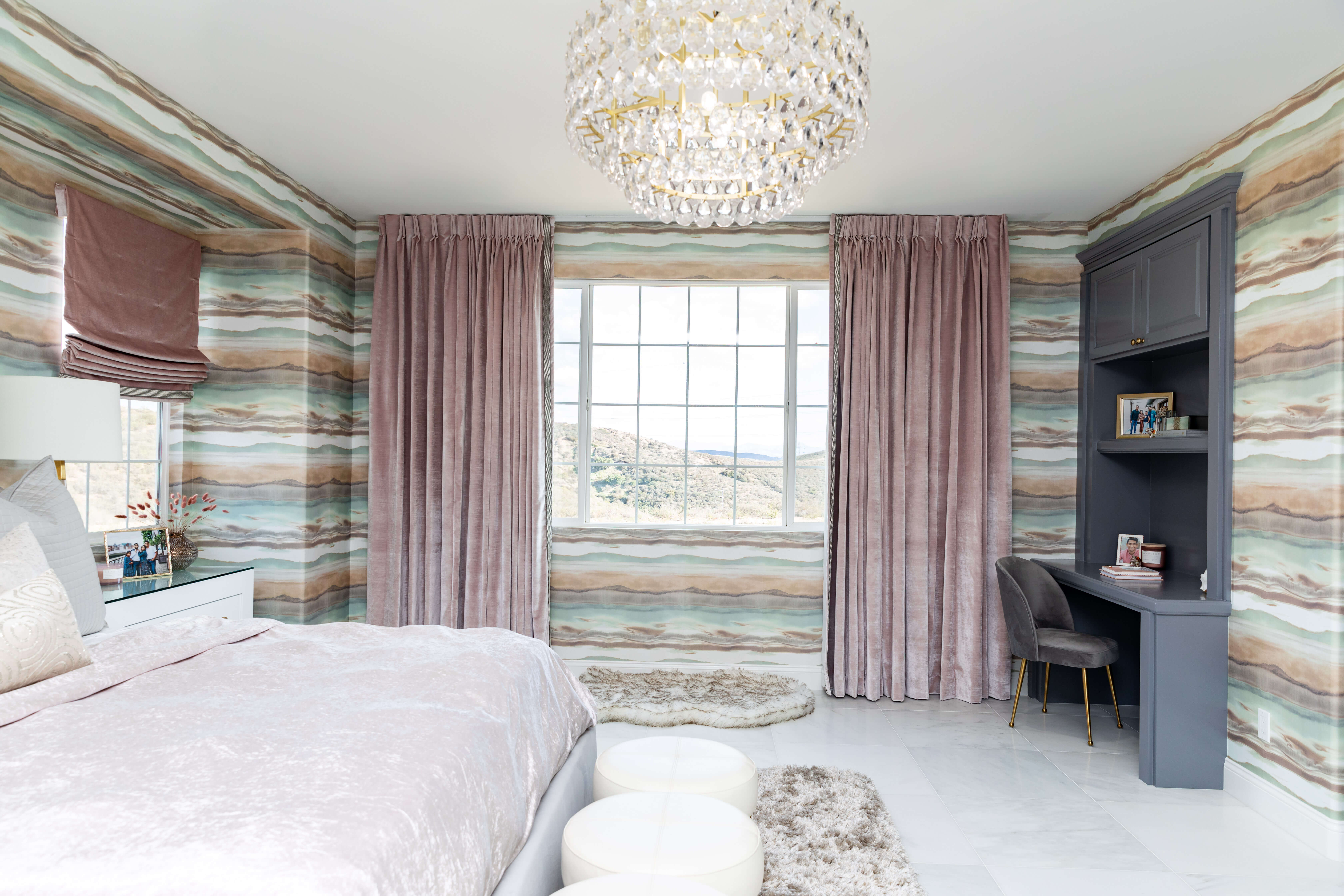 Simply Stunning Spaces Master Bedroom